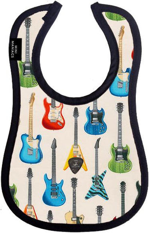 Rocker Baby Bib by Mini Maniacs