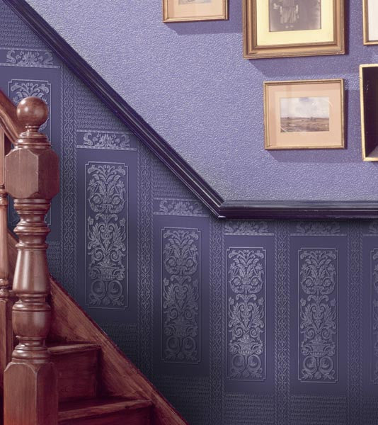 Rococo Paintable Dado Wallpaper design by Brewster Home Fashions