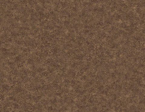 Roma Leather Wallpaper in Mahogany from the Texture Gallery Collection by Seabrook Wallcoverings