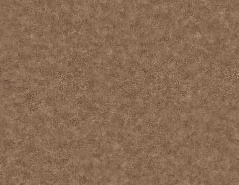 Roma Leather Wallpaper in Saddle from the Texture Gallery Collection by Seabrook Wallcoverings