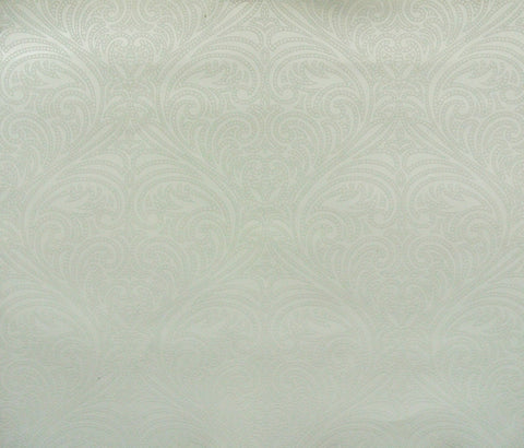 Romance Damask Wallpaper in Blue from the Candice Olson Journey Collection by York Wallcoverings