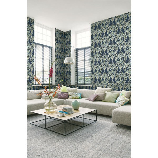 Roxen Wallpaper from the Lugano Collection by Seabrook Wallcoverings