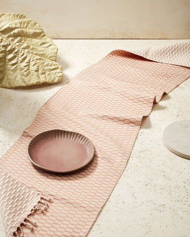 Panalito Runner in Peach design by Minna