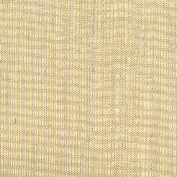 Sample Ruslan Champagne Grasscloth Wallpaper from the Jade Collection by Brewster Home Fashions
