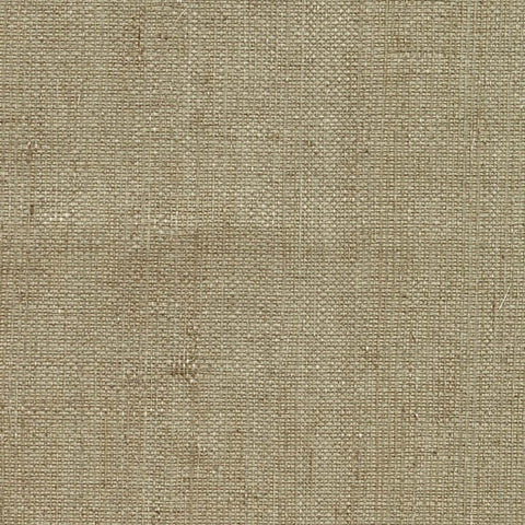 Ruslan Taupe Grasscloth Wallpaper from the Jade Collection by Brewster Home Fashions