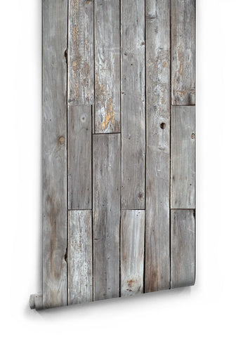 Sample Rustic Wood Panels Wallpaper design by Milton & King