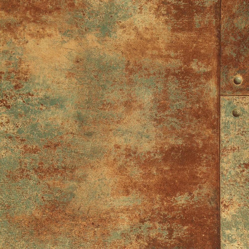 Rusty Panel Wallpaper from the Precious Elements Collection by Burke Decor