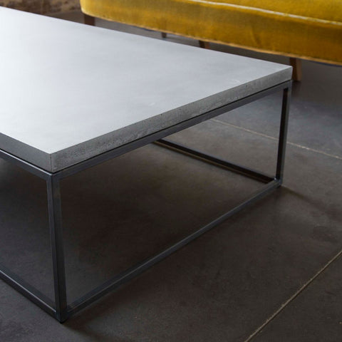 Perspective - Rectangular Coffee Table by Lyon Béton