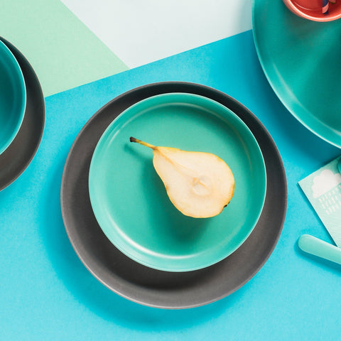 Bambino Small Bamboo Plate in Various Colors design by EKOBO