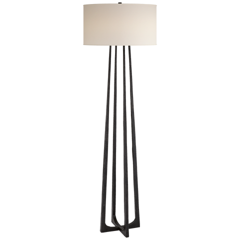 Scala Large Hand-Forged Floor Lamp by Ian K. Fowler