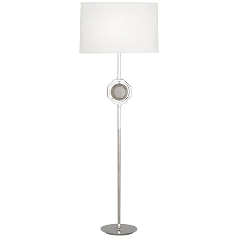 Hope Floor Lamp in Various Finishes design by Robert Abbey