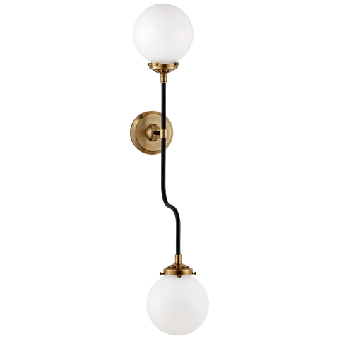Bistro Double Wall Sconce by Ian K. Fowler