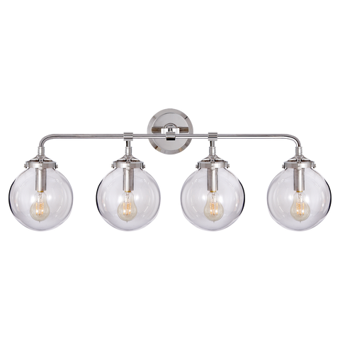 Bistro Four Light Bath Sconce by Ian K. Fowler