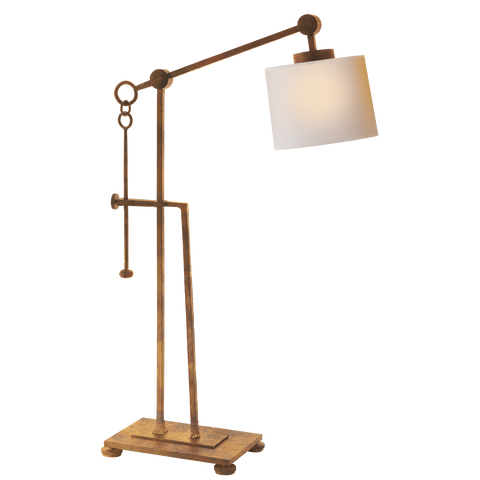 Aspen Forged Iron Table Lamp by Ian K. Fowler