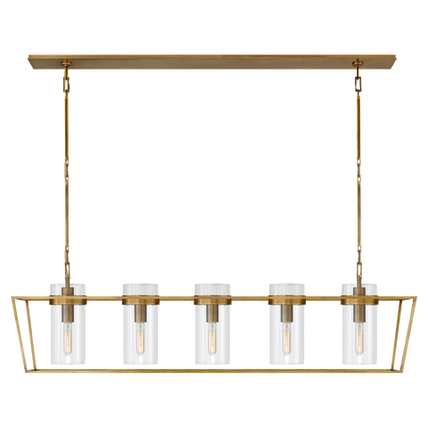Presidio Large Linear Lantern by Ian K. Fowler