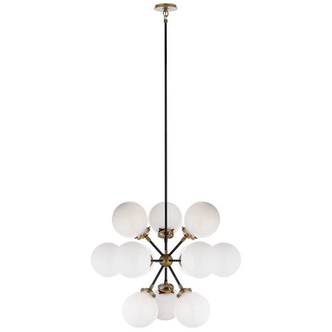 Bistro Small Round Chandelier by Ian K. Fowler