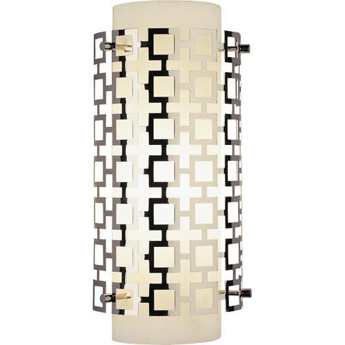 Jonathan Adler Collection Half Round Wall Sconce design by Robert Abbey