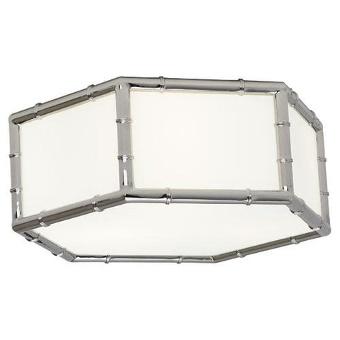 Meurice Hexagonal Flush Mount by Jonathan Adler for Robert Abbey
