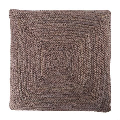 Natia Solid Grey Floor Cushion