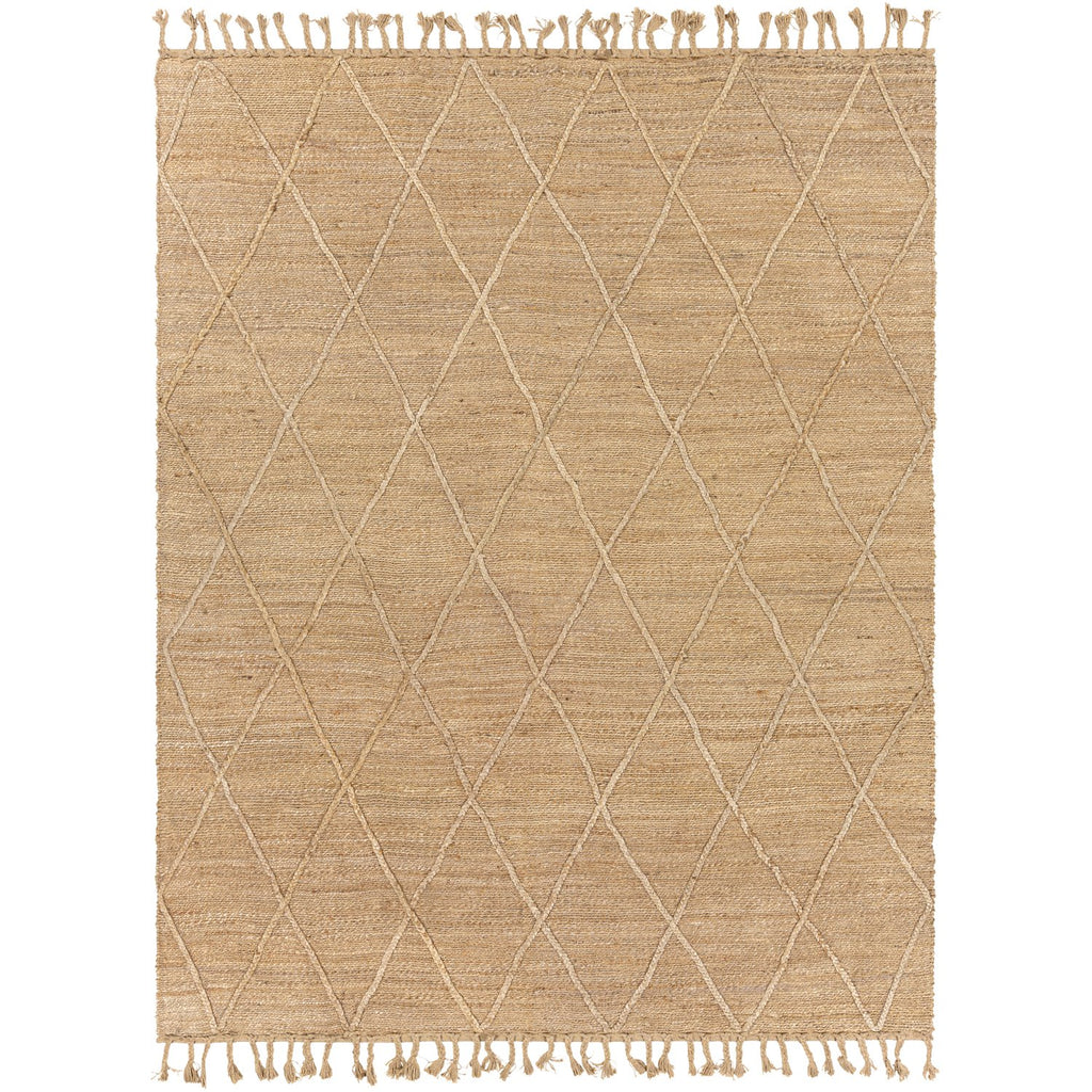Saba SAB-2301 Hand Woven Rug in Khaki & Wheat by Surya