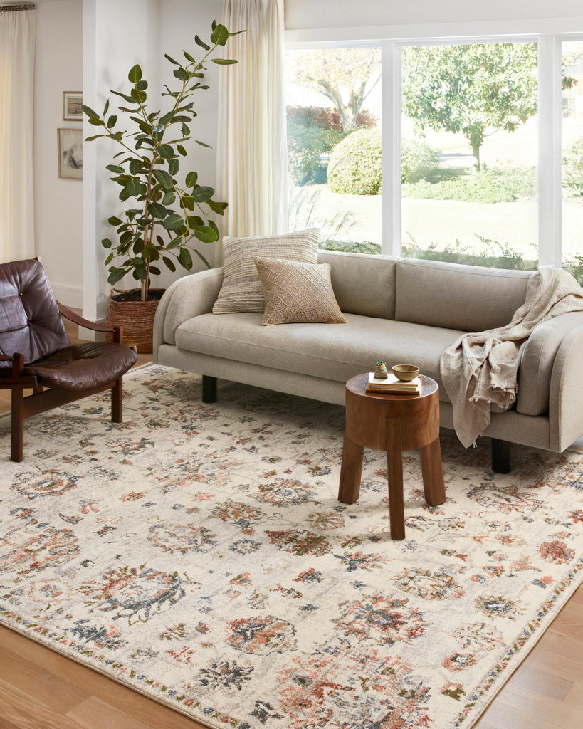 Saban Rug in Ivory / Multi by Loloi II