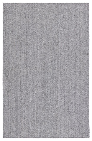 Maracay Indoor/Outdoor Solid Black & White Rug by Jaipur Living