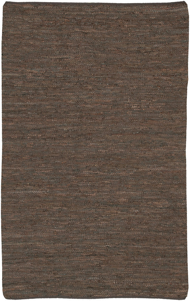 Saket Collection Hand-Woven Area Rug in Brown design by Chandra rugs