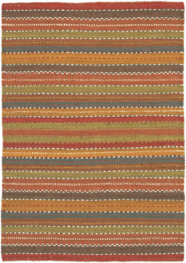 Saket Collection Hand Woven Area Rug In Brown Red Blue Green Burke Decor