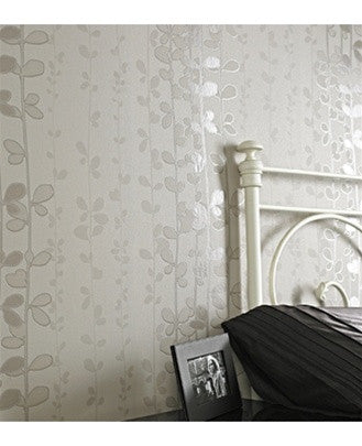 Sample Liberty Wallpaper in Mocha by Graham and Brown