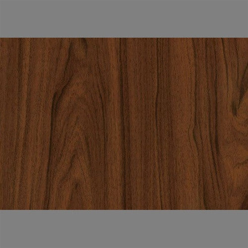 Sample Walnut Self-Adhesive Wood Grain Contact Wallpaper by Burke Decor