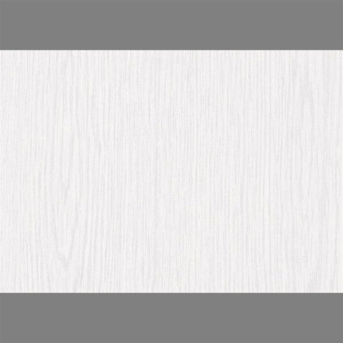Sample Whitewood Self-Adhesive Wood Grain Contact Wallpaper by Burke Decor