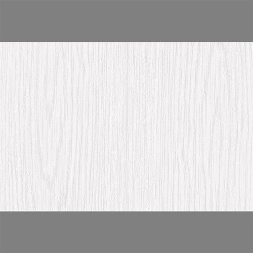 Sample Whitewood Satin Self-Adhesive Wood Grain Contact Wallpaper by Burke Decor