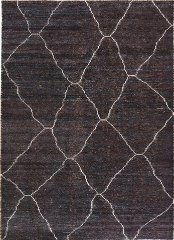 Satellite Rug in Total Eclipse & Mood Indigo design by Jaipur