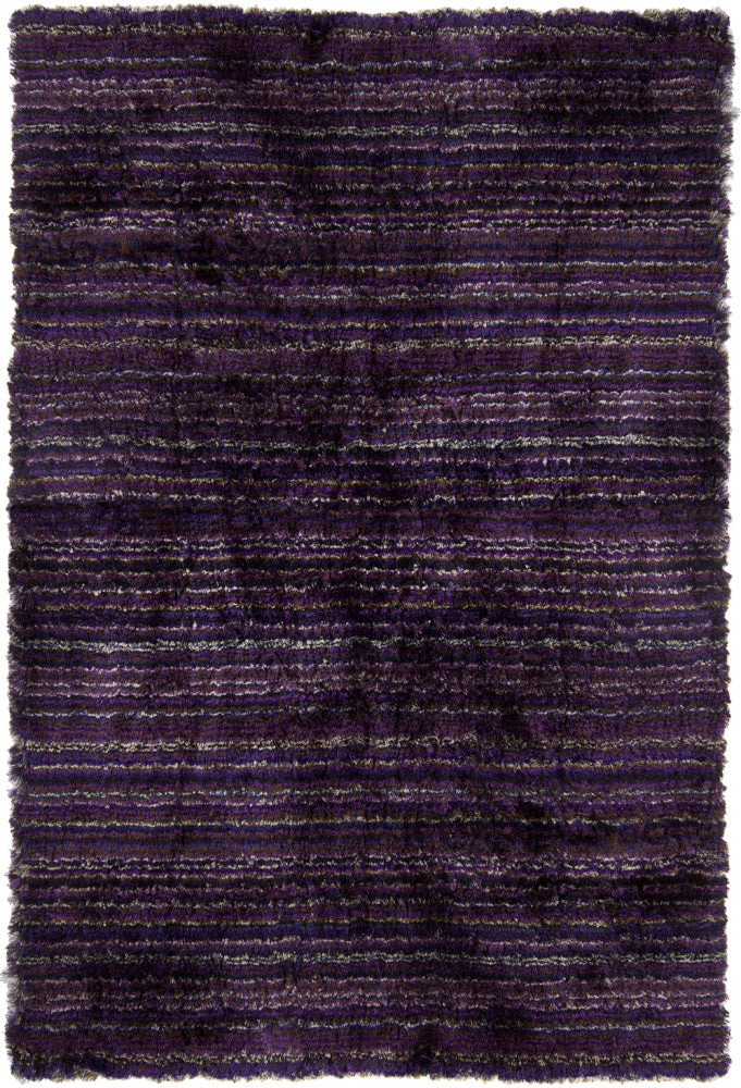 Savona Collection Hand-Woven Area Rug in Purple design by Chandra rugs