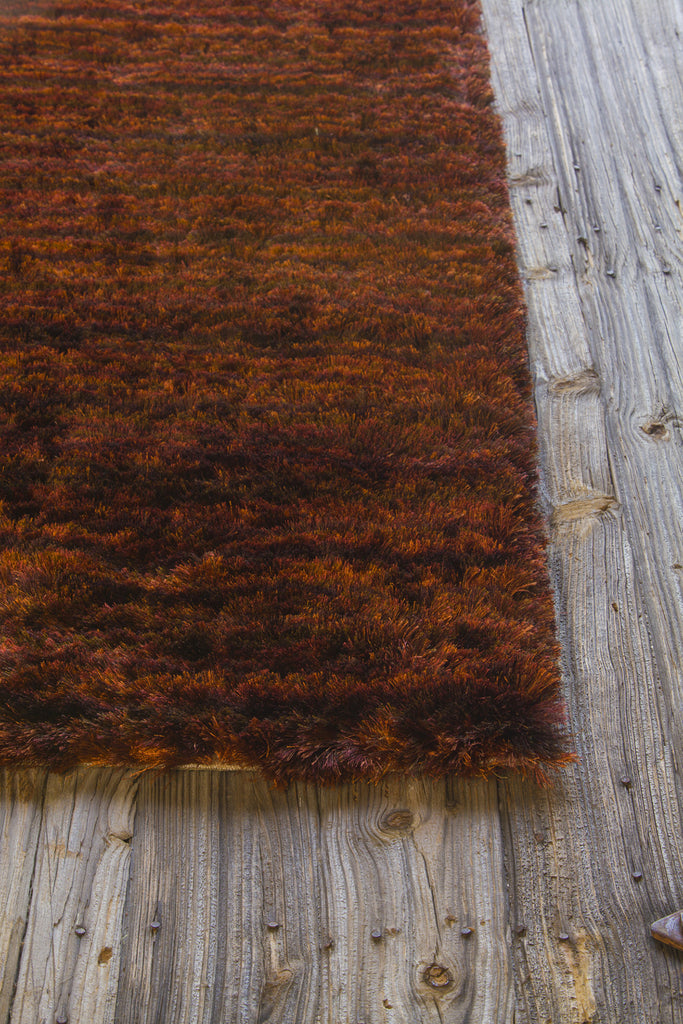 Savona Collection Hand-Woven Area Rug in Red, Orange, & Brown design by Chandra rugs