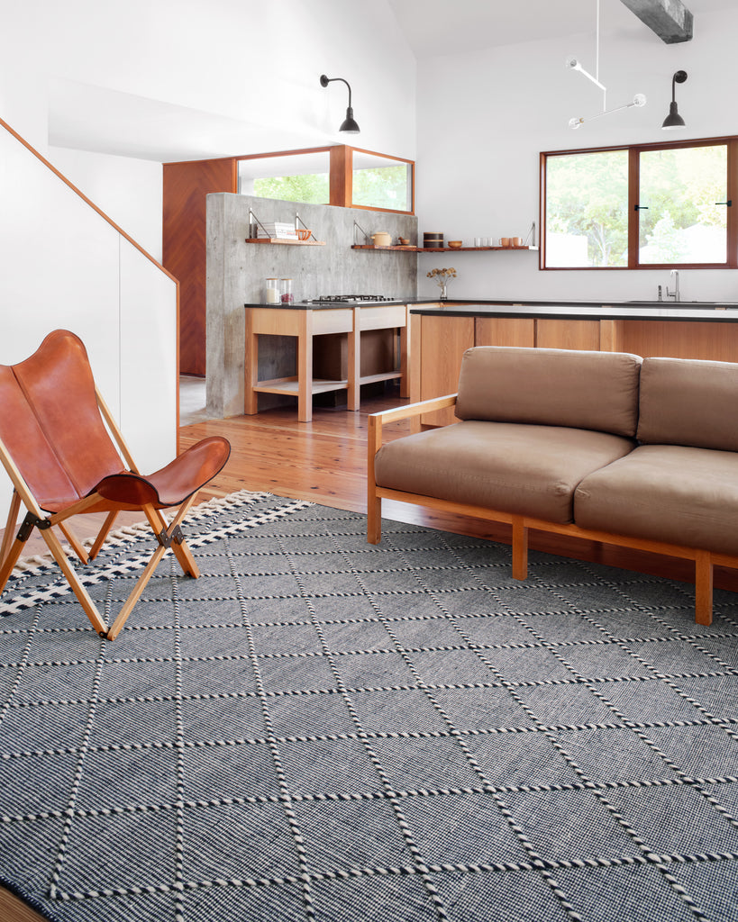 Sawyer Rug in Navy by Loloi II