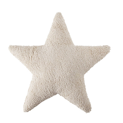 Star Cushion in Beige design by Lorena Canals