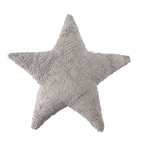 Star Cushion in Light Grey design by Lorena Canals