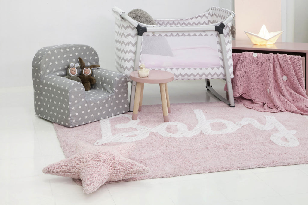 Star Cushion in Pink design by Lorena Canals