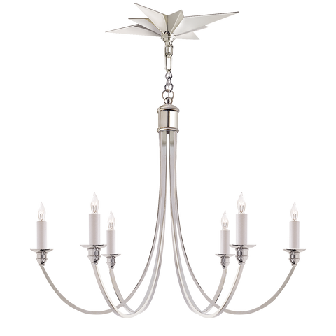 Venetian Medium Chandelier by Eric Cohler