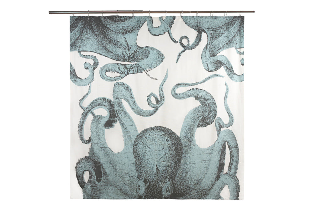 Pulpo Shower Curtain design by Thomas Paul