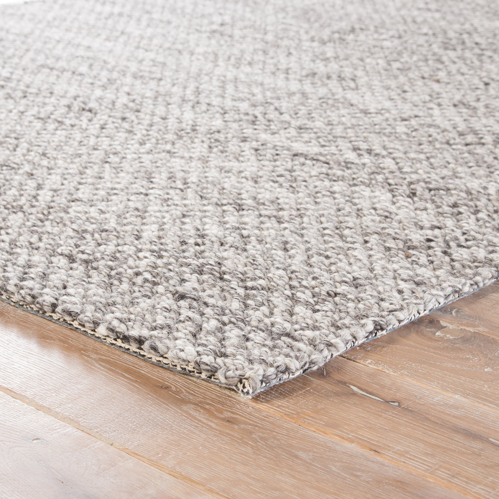 Karlstadt Solid Rug in Paloma & Snow White design by Jaipur Living