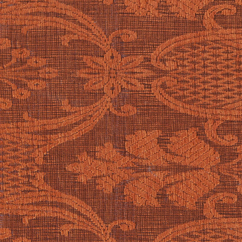 Shenaz Collection Hand-Woven Area Rug in Rust design by Chandra rugs