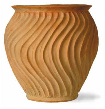 Shimmer Planters in Terracotta design by Capital Garden Products