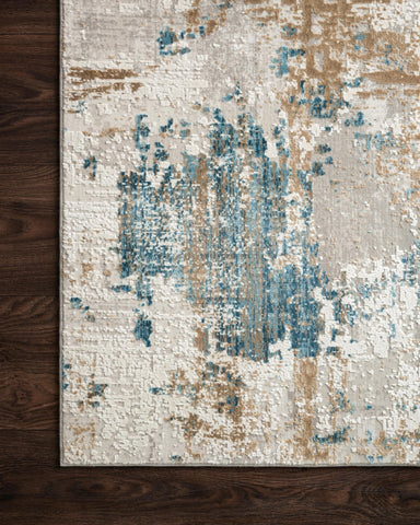 Sienne Rug in Ivory & Gold by Loloi