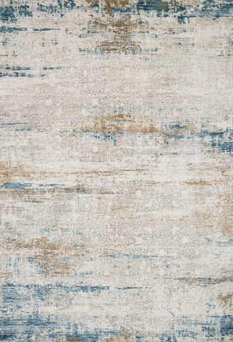 Sienne Rug in Ivory & Azure by Loloi
