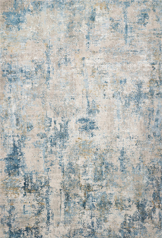 Sienne Rug in Grey / Blue by Loloi