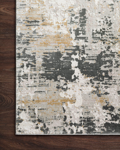Sienne Rug in Ivory / Granite by Loloi