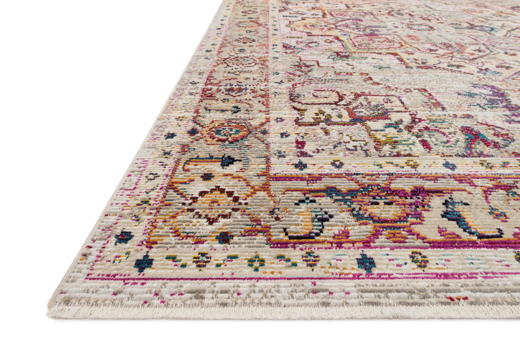 Silvia Rug in Natural & Multi by Justina Blakeney for Loloi