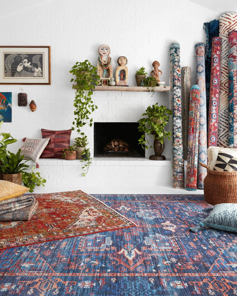 Silvia Rug in Red & Multi by Justina Blakeney for Loloi